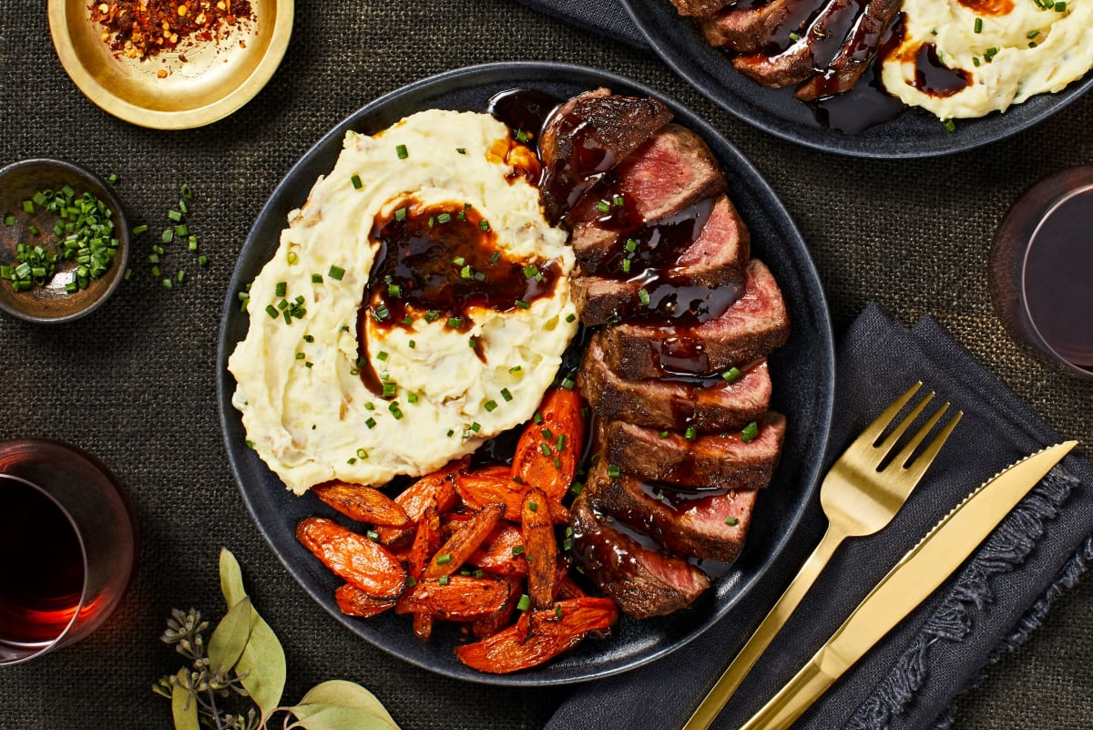 Seared Sirloin Steak