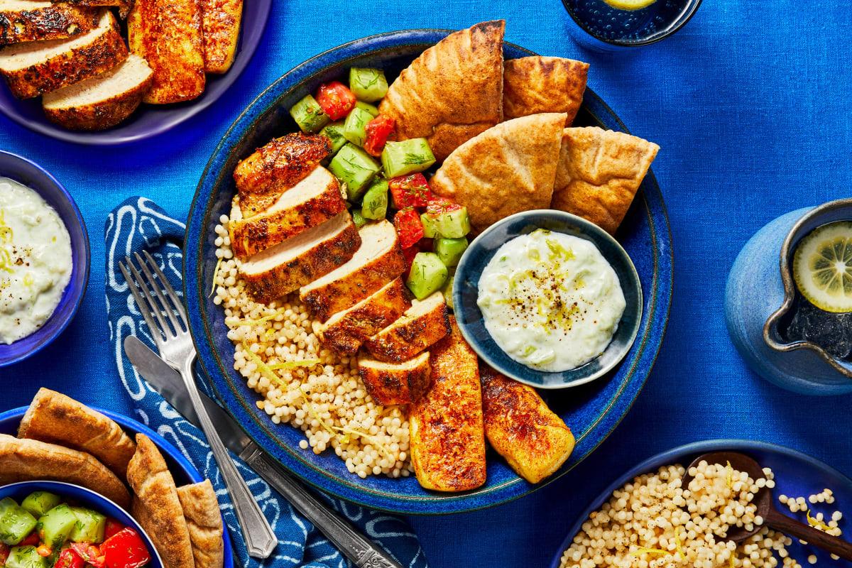 Mediterranean Mezze Platter