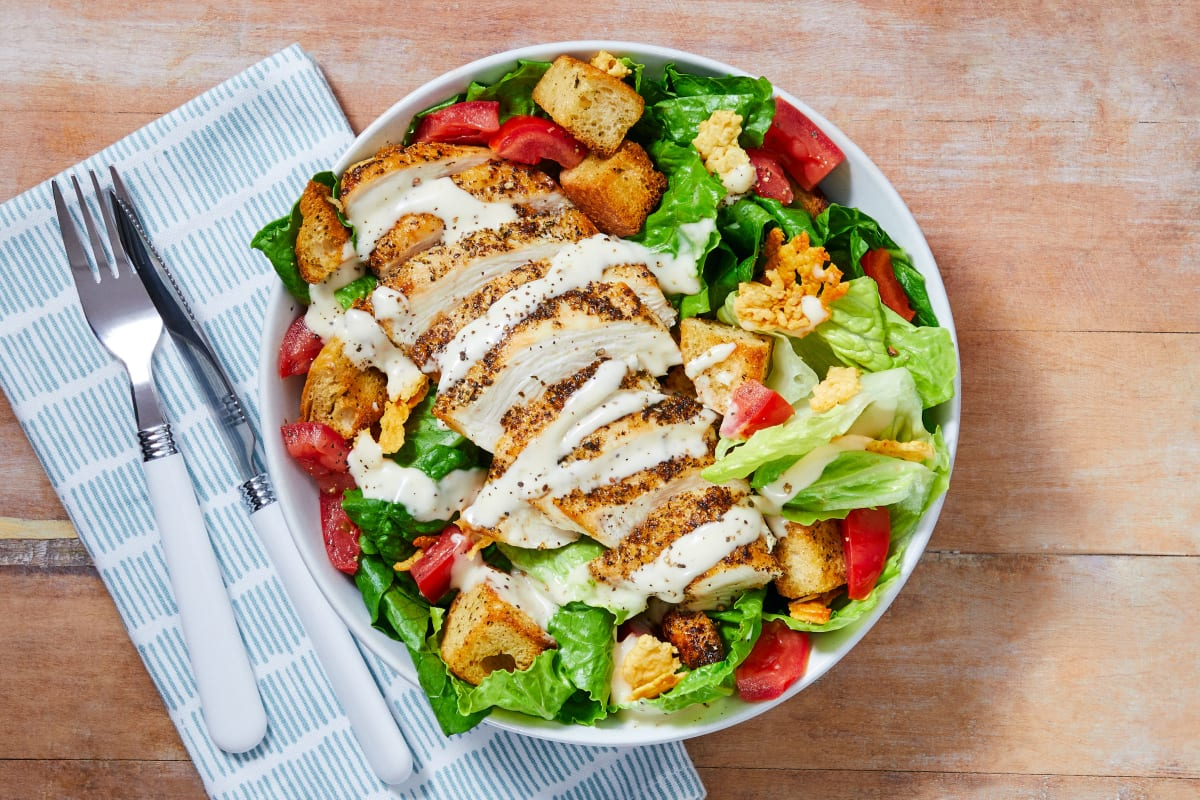 Chicken Caesar Salad Recipe Hellofresh