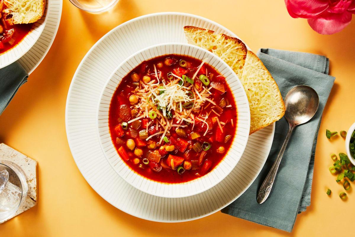 Italian Tomato and Chickpea Soup