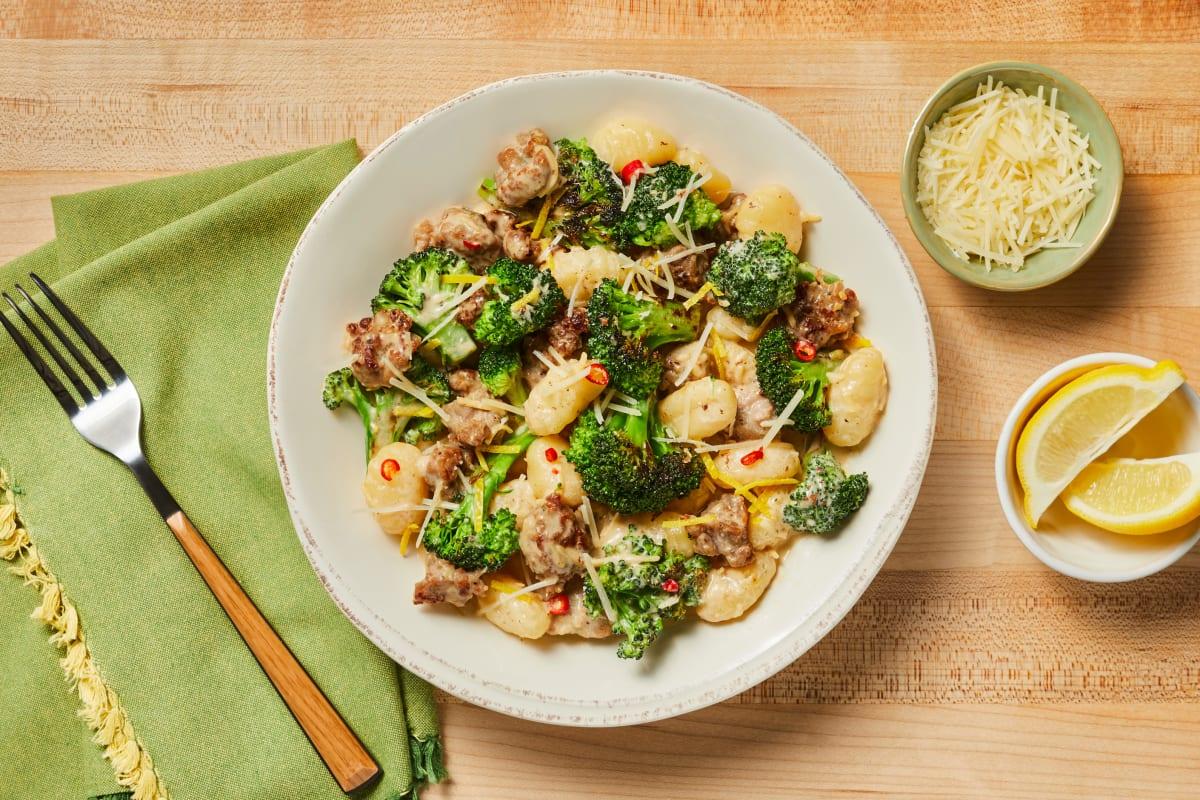 Pork Sausage & Broccoli Gnocchi