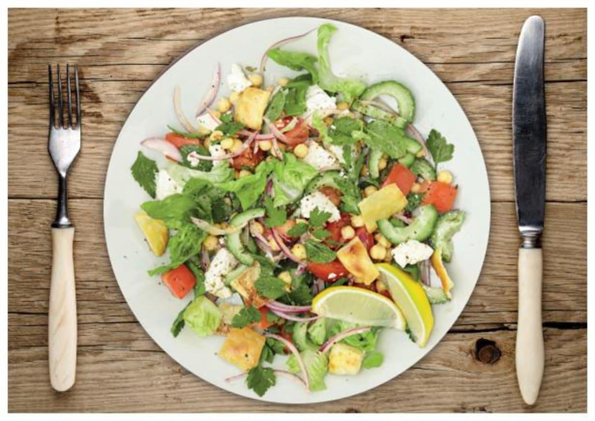 Erfrischender Griechischer Salat