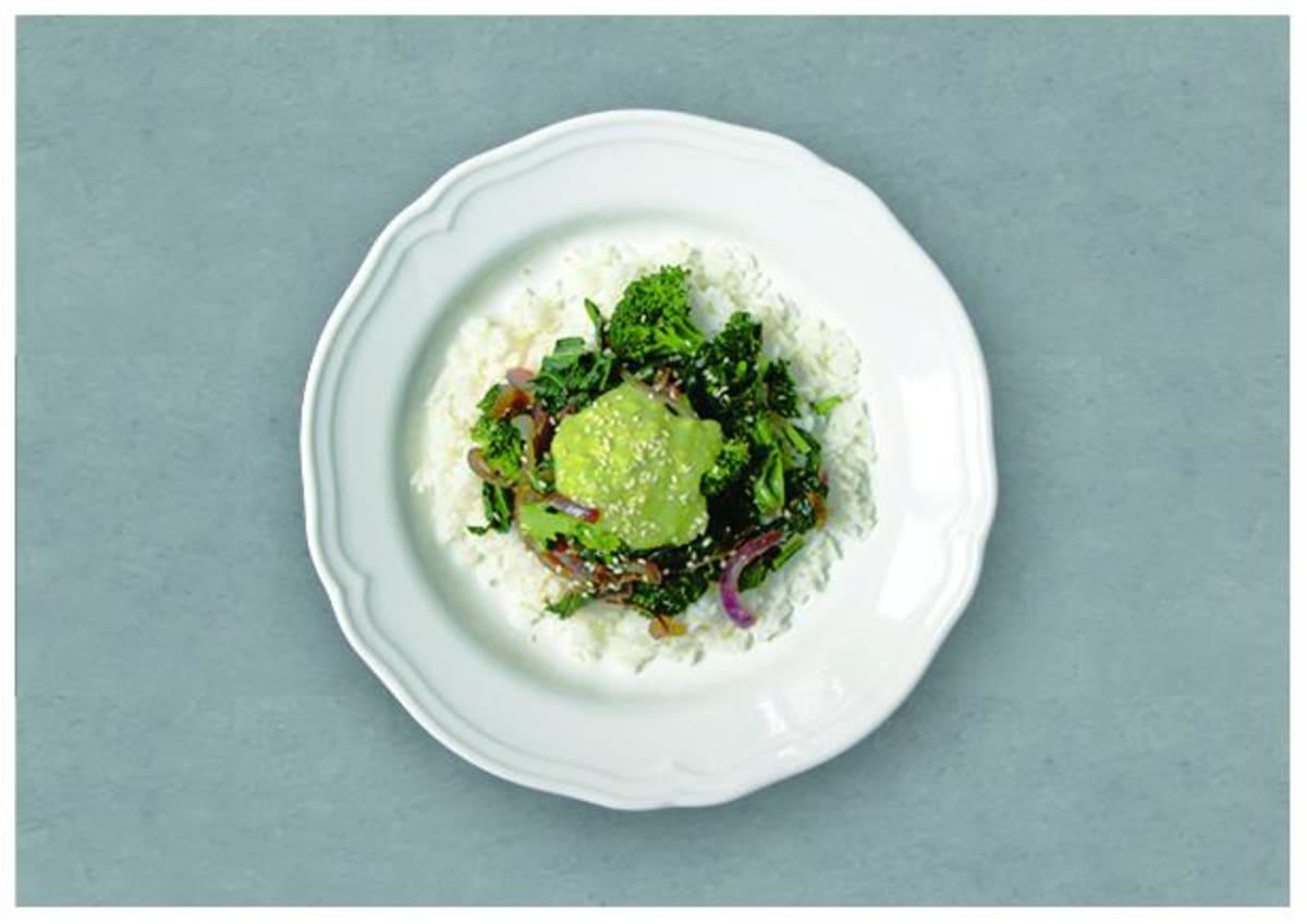 Broccoli and Kale Stir Fry