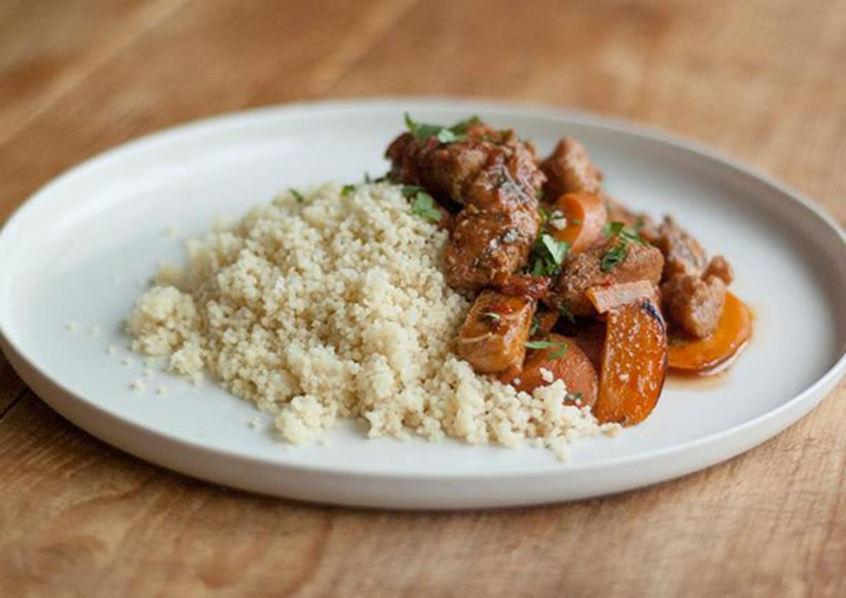 Fish Tagine & Couscous