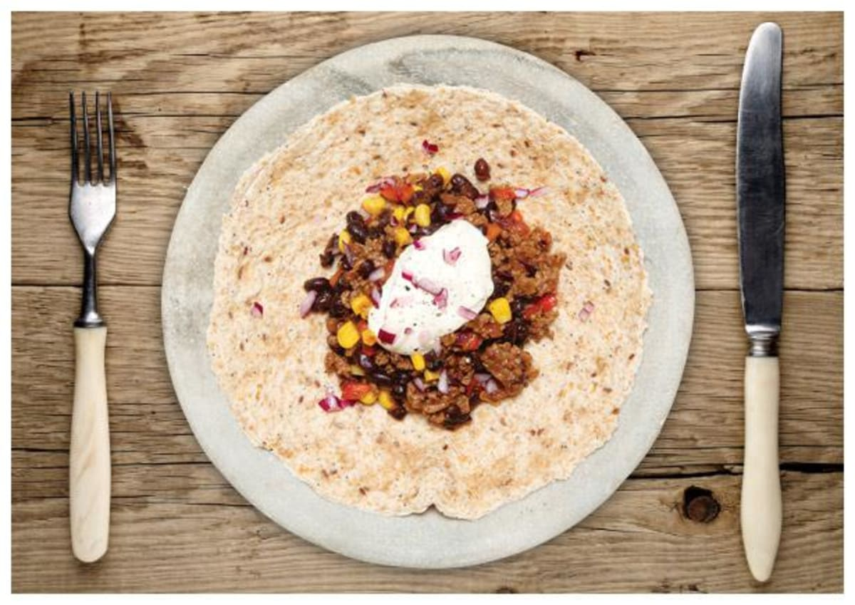 Chipotle Beef and Corn Tortillas