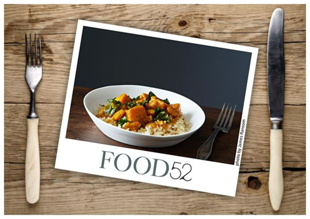 Food52: Vegan Kale and White Bean Korma