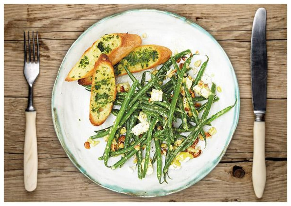 """Lauwarmer Bohnen Salat """"Haricot Vert"""""""