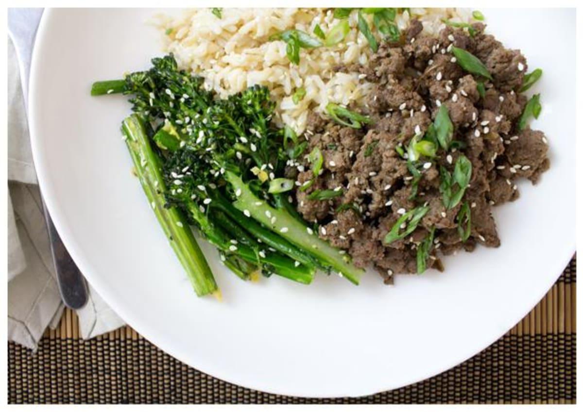 Korean-Style Beef