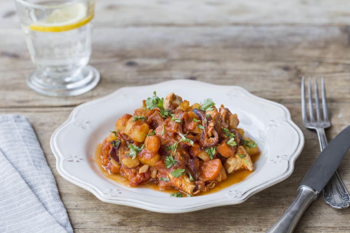 Skillet Chicken Paprikash