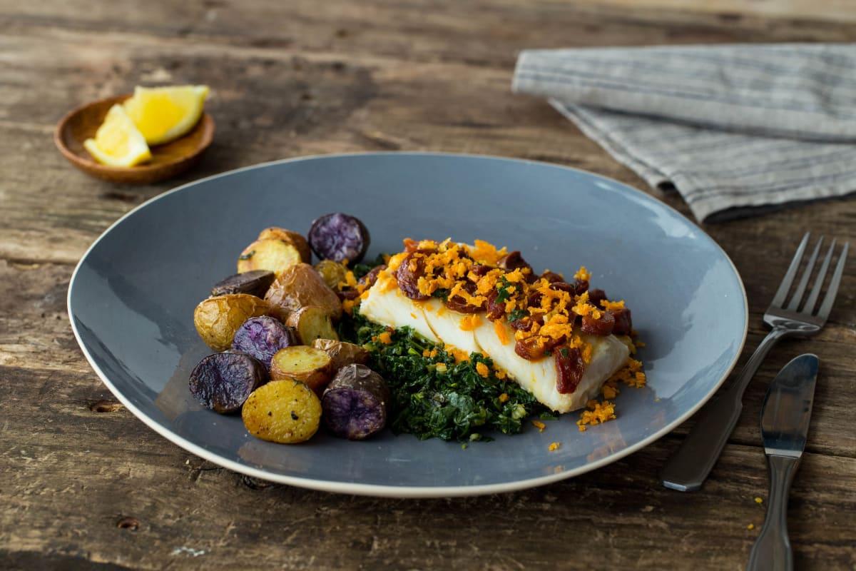 Spanish Cod & Chorizo