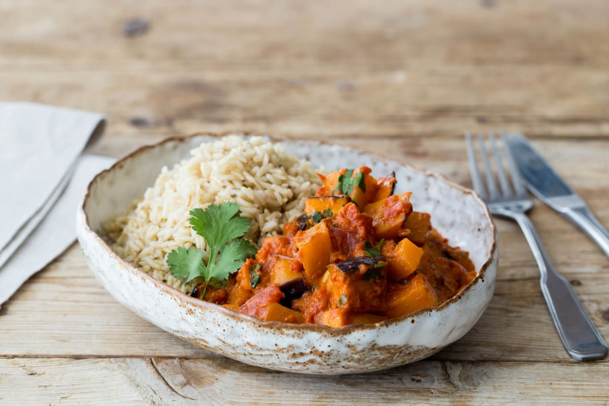 Deliciously Ella's Coconut Thai Curry with Chickpeas