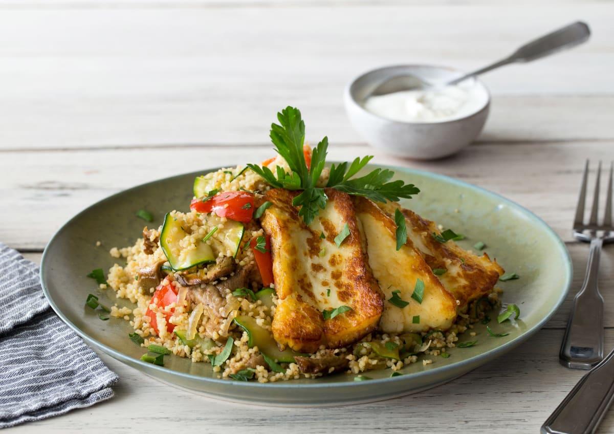 Marokkanischer Couscous-Salat