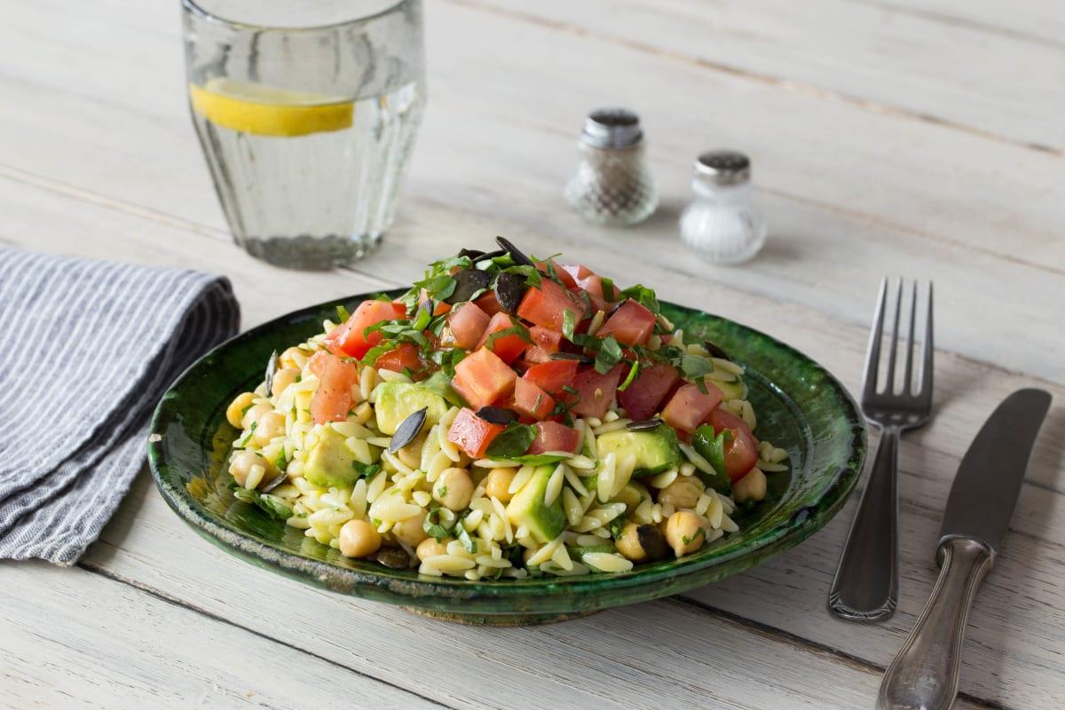 23+ Marinated Tomato and Avocado Salad with Orzo Bilder