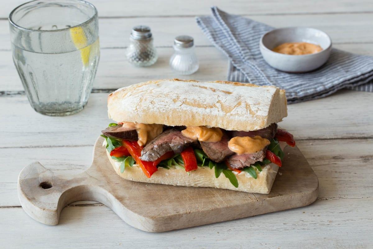Chipotle Steak Sandwich