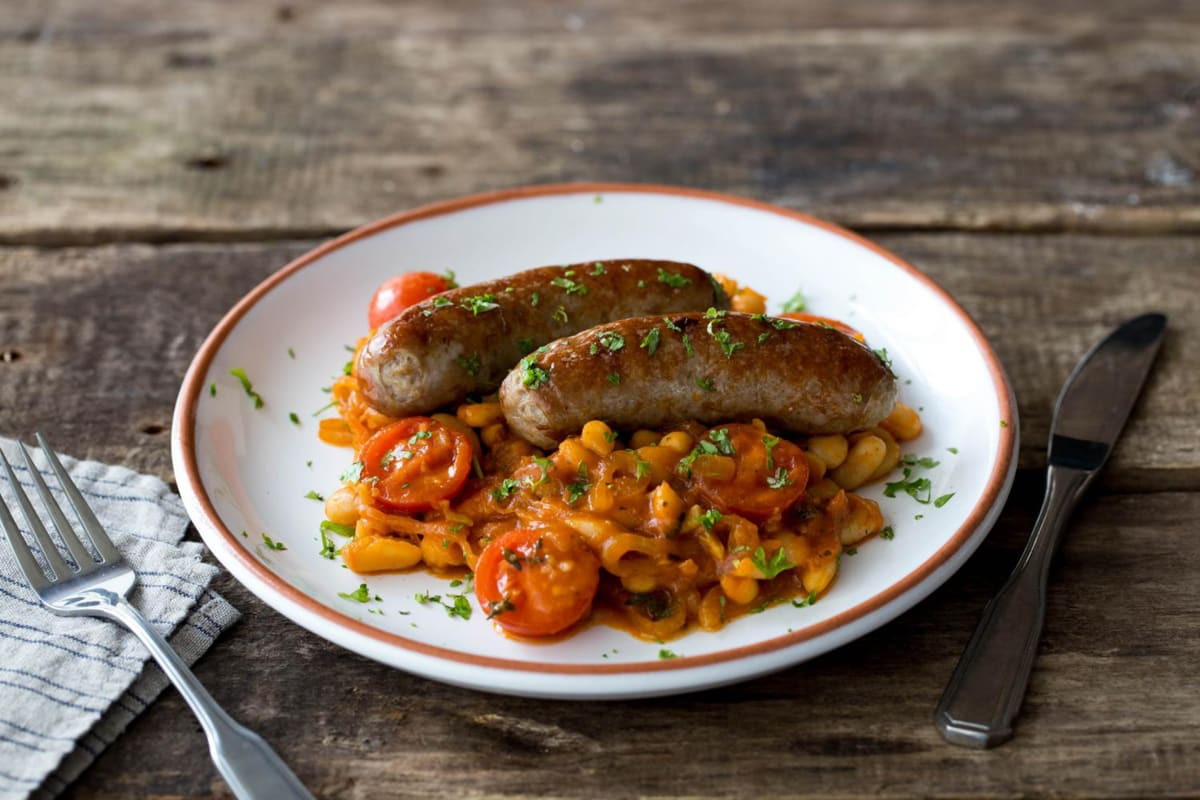 Hearty Toulouse Sausage Cassoulet