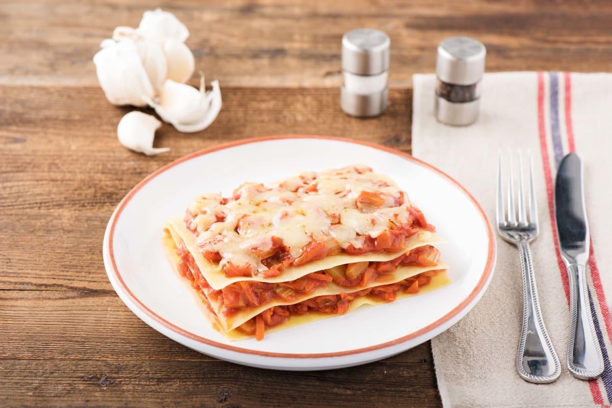 Lasagne met winterpeen, venkel en provolone
