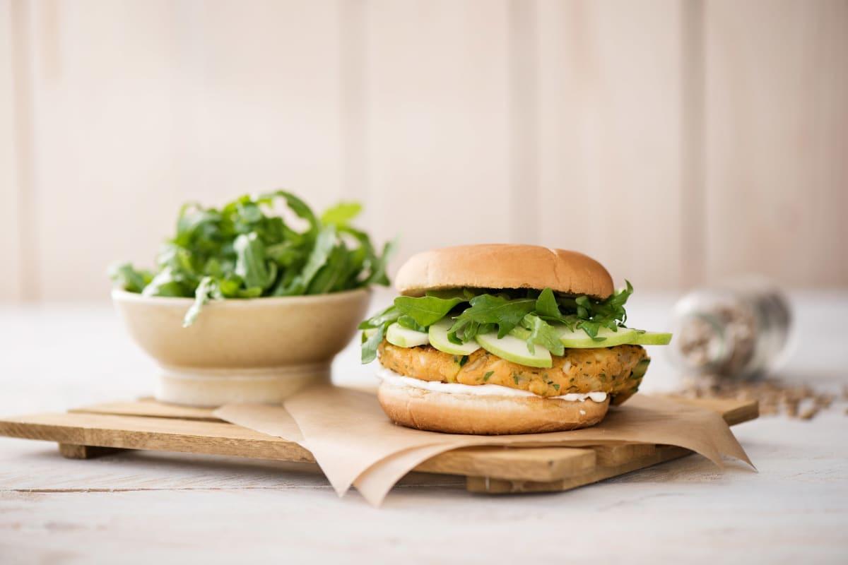 Haloumi Veggie Burger