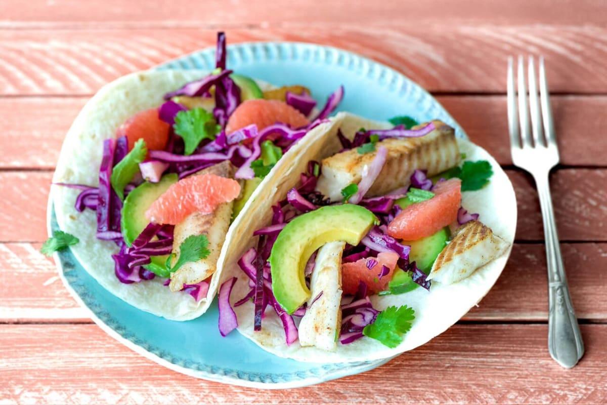 Feisty Fiesta Fish Tacos