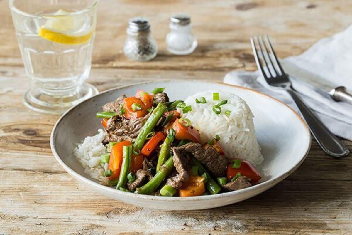 Lemongrass Beef Stir-Fry