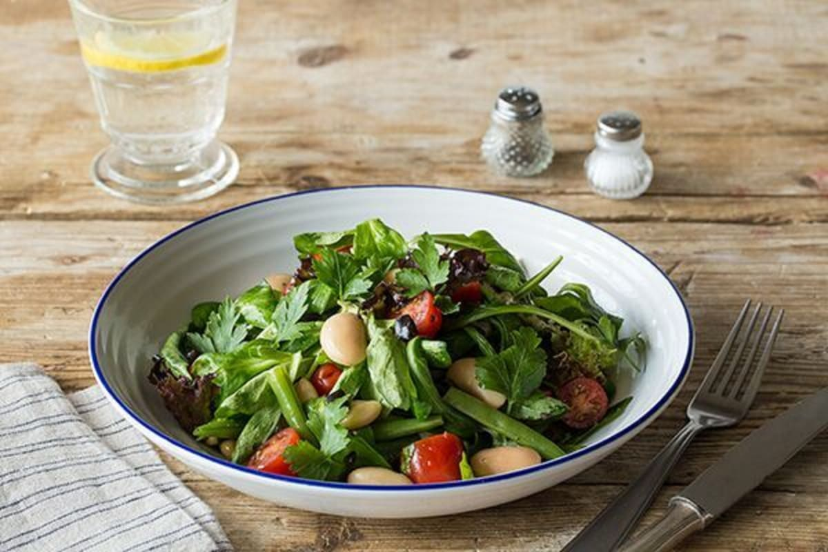 Mediterranean Butter Bean Salad