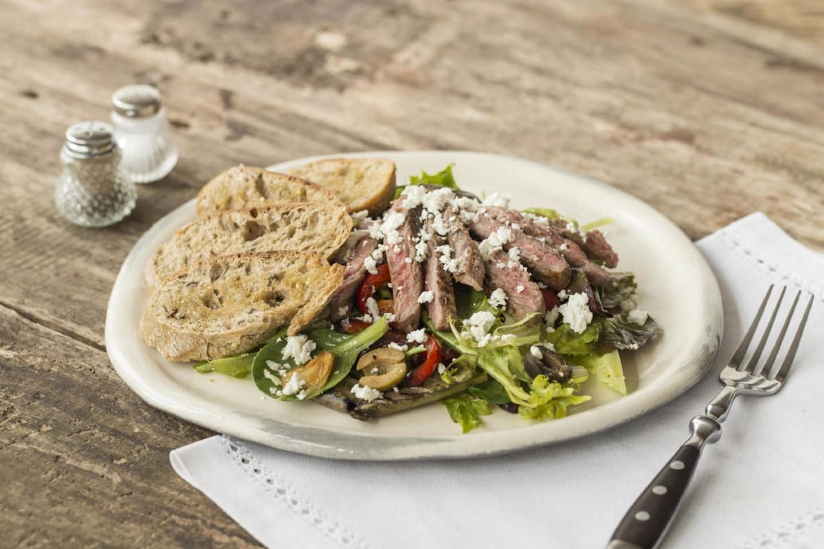 Spanish Steak Salad