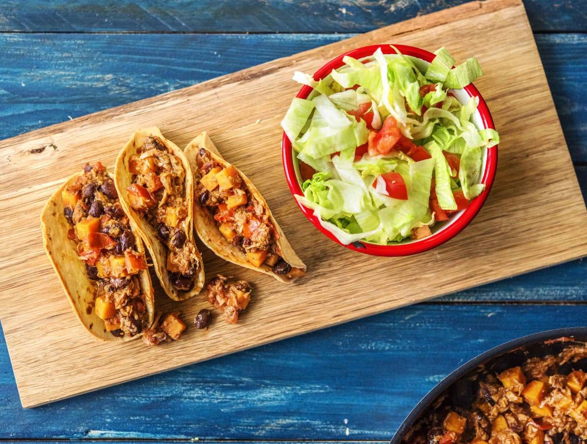 Tacos mexicains au thon