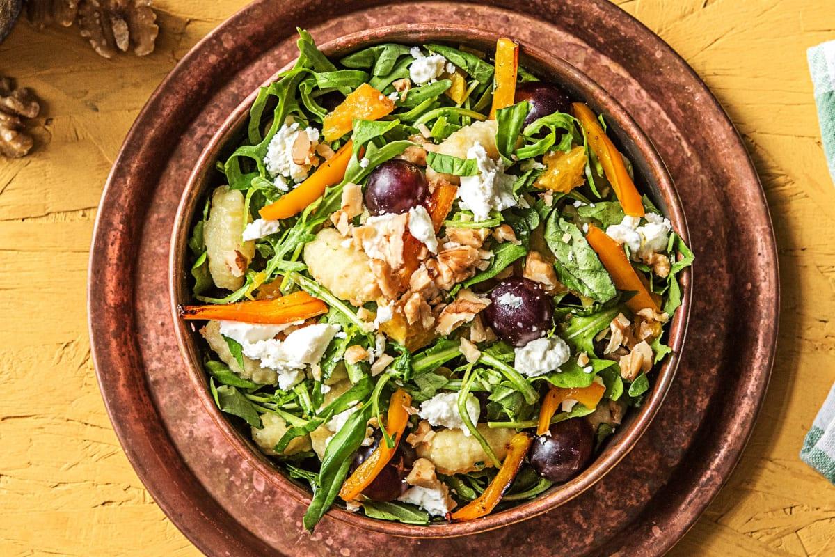 Lauwarmer Gnocchi-Salat