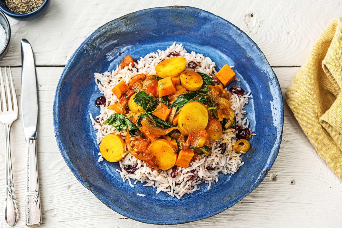 Iranischer Gemüsetopf,