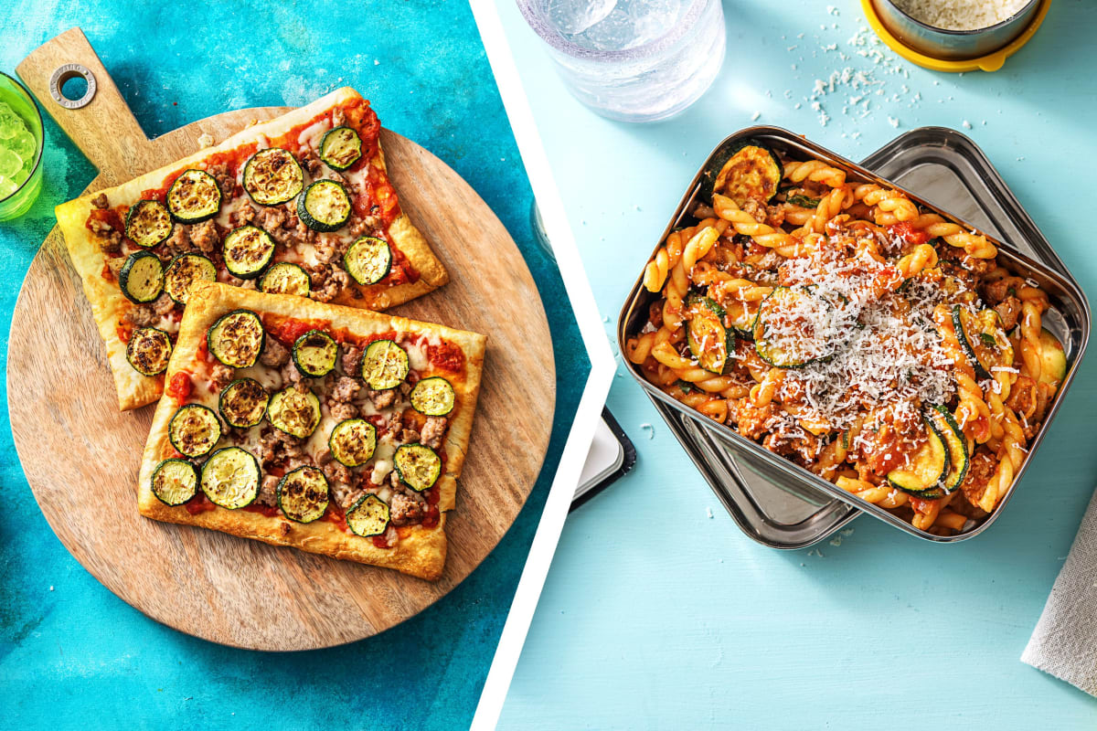 Sausage Pizza Dinner