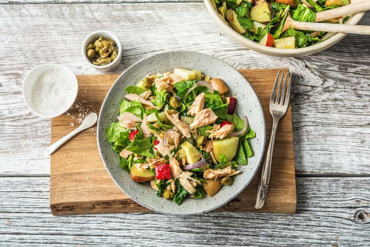 Salade met tonijn en opperdoezer ronde