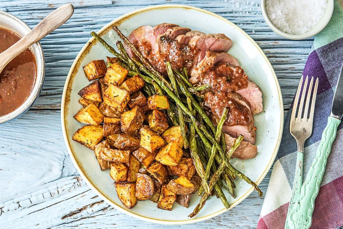 Figgy Balsamic Pork