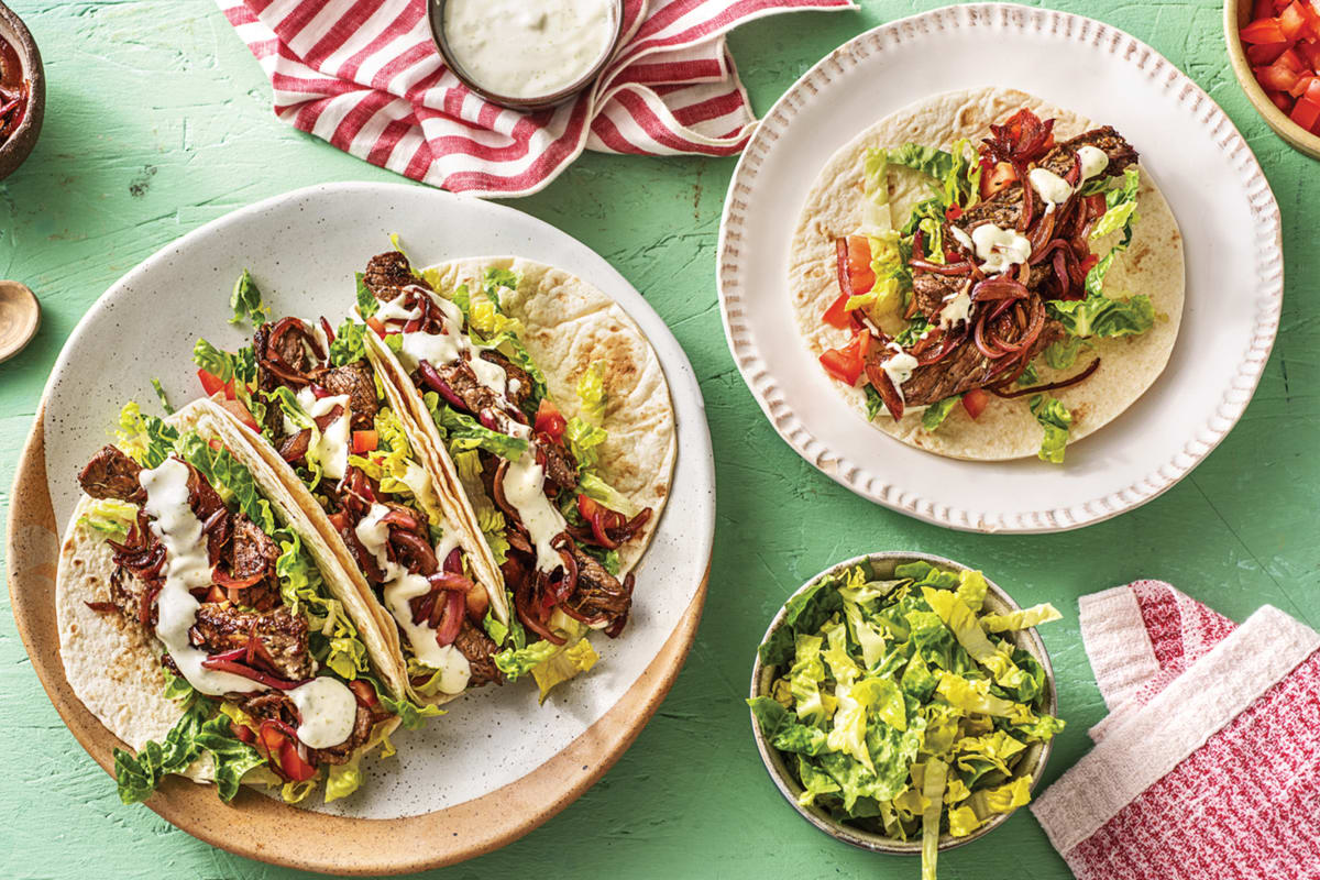 Nonna's Beef Tacos
