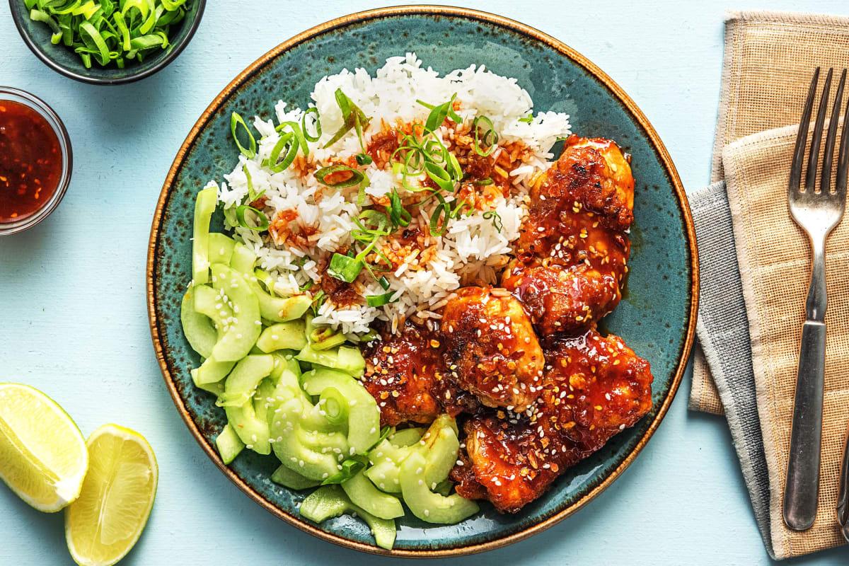 Korean-Style Chicken Thighs