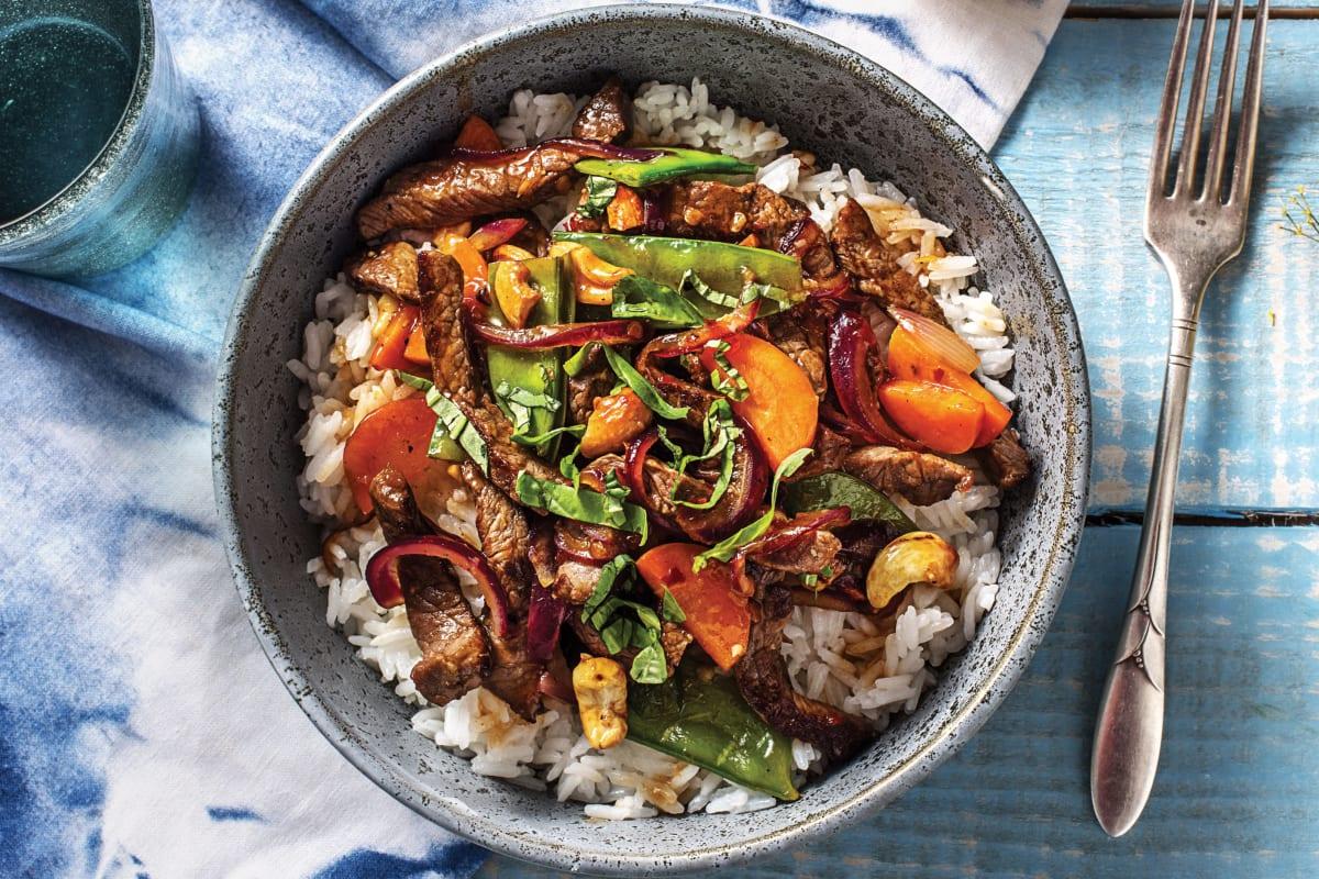 Thai Beef & Broccoli Stir-Fry