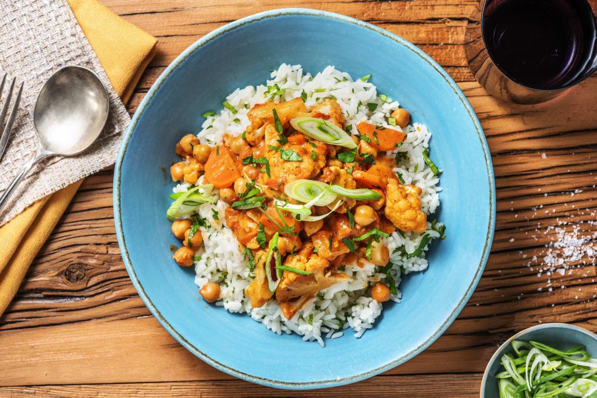 Tomatiges Tikka Masala Curry