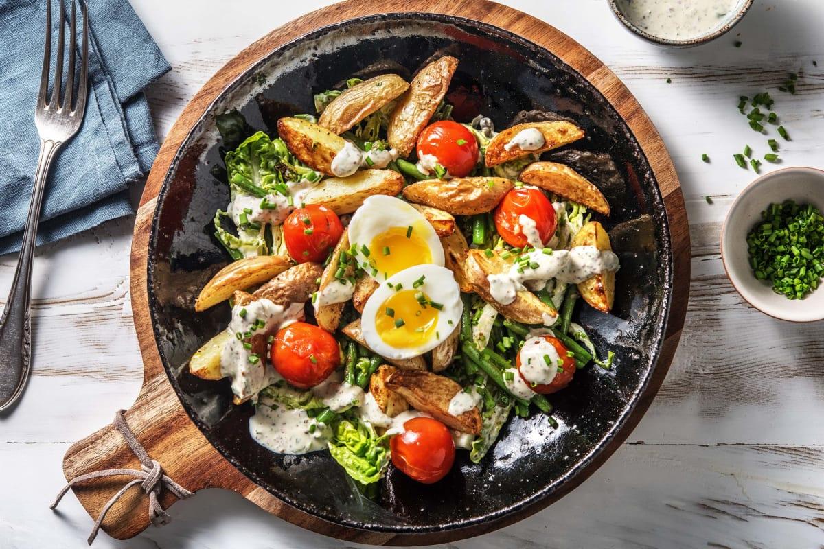 Feiner Kartoffelsalat a la Nicoise
