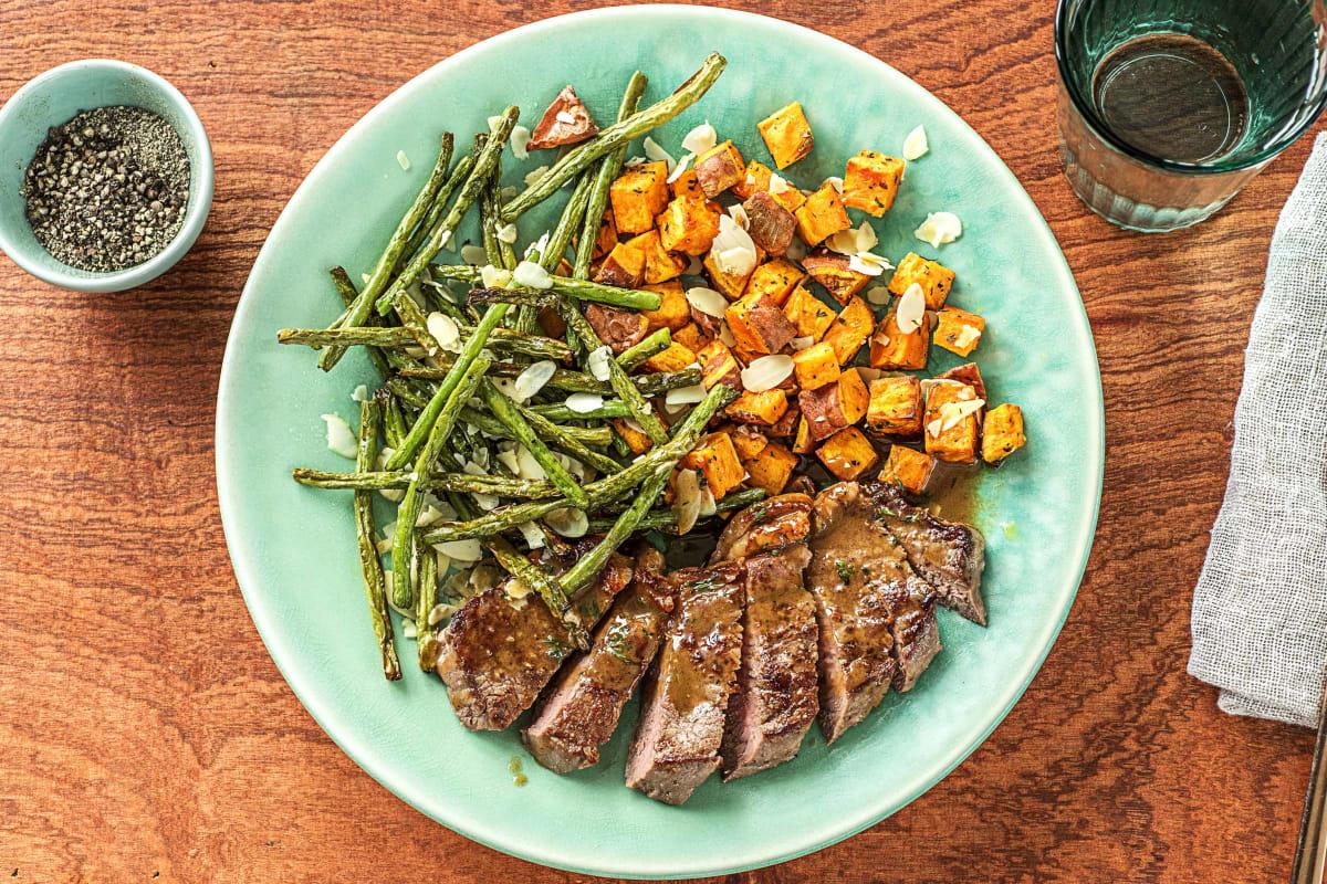 Saucy Thyme Steak