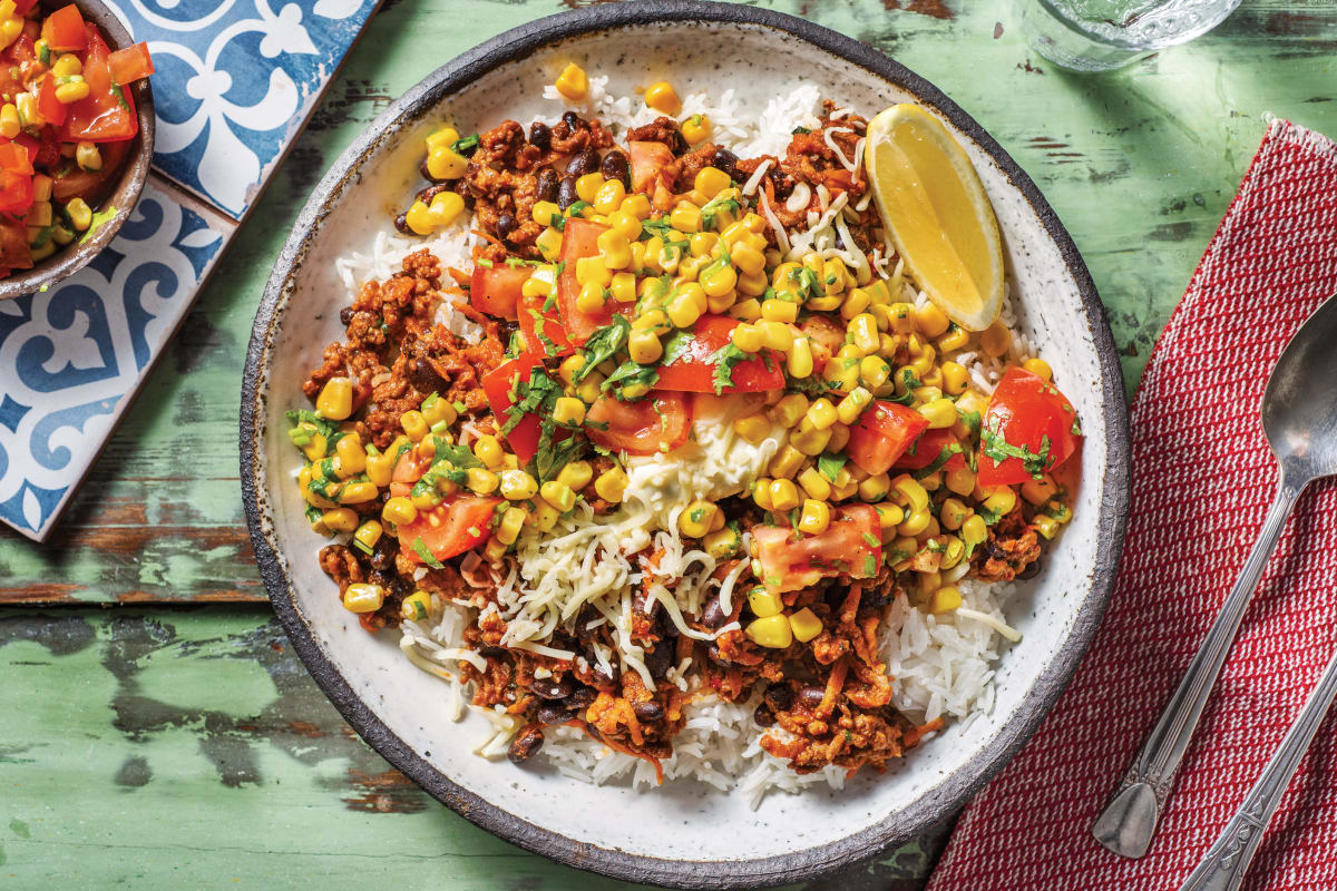 Mexican Beef & Black Bean Chilli