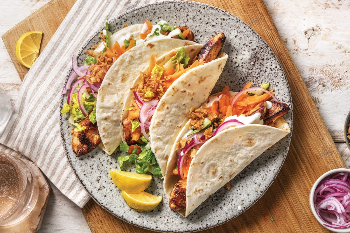 Korean Style Chicken Tacos Recipe Hellofresh