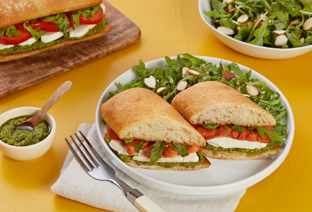Veggie Caprese Sandwich