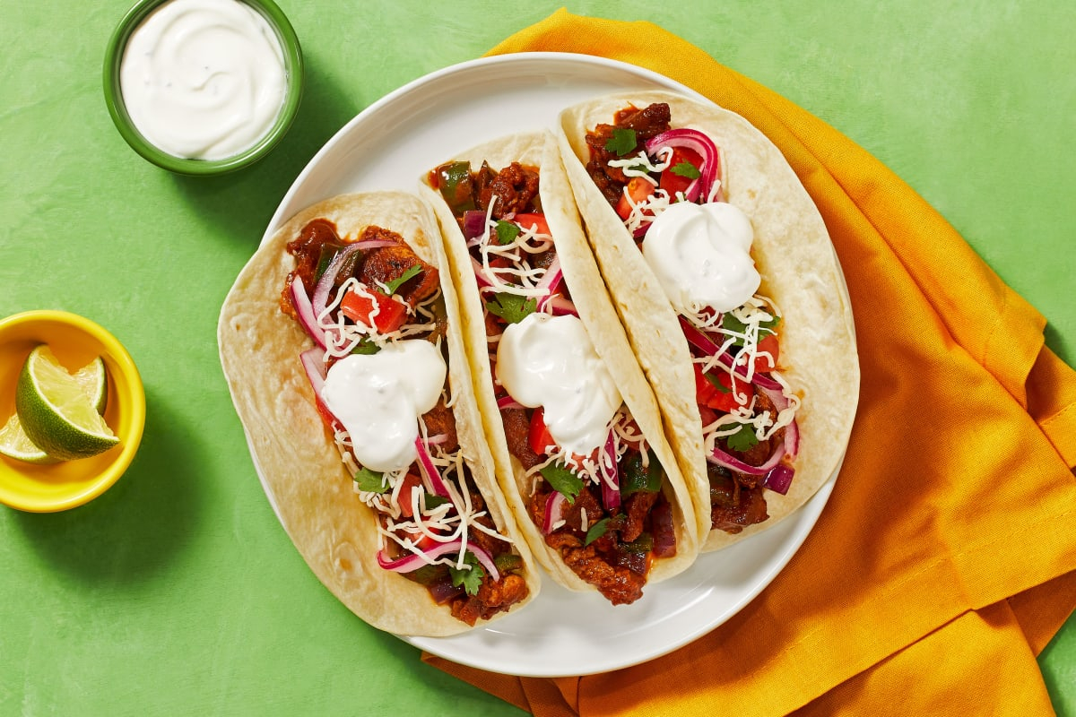 Diced Pork Carnitas Tacos