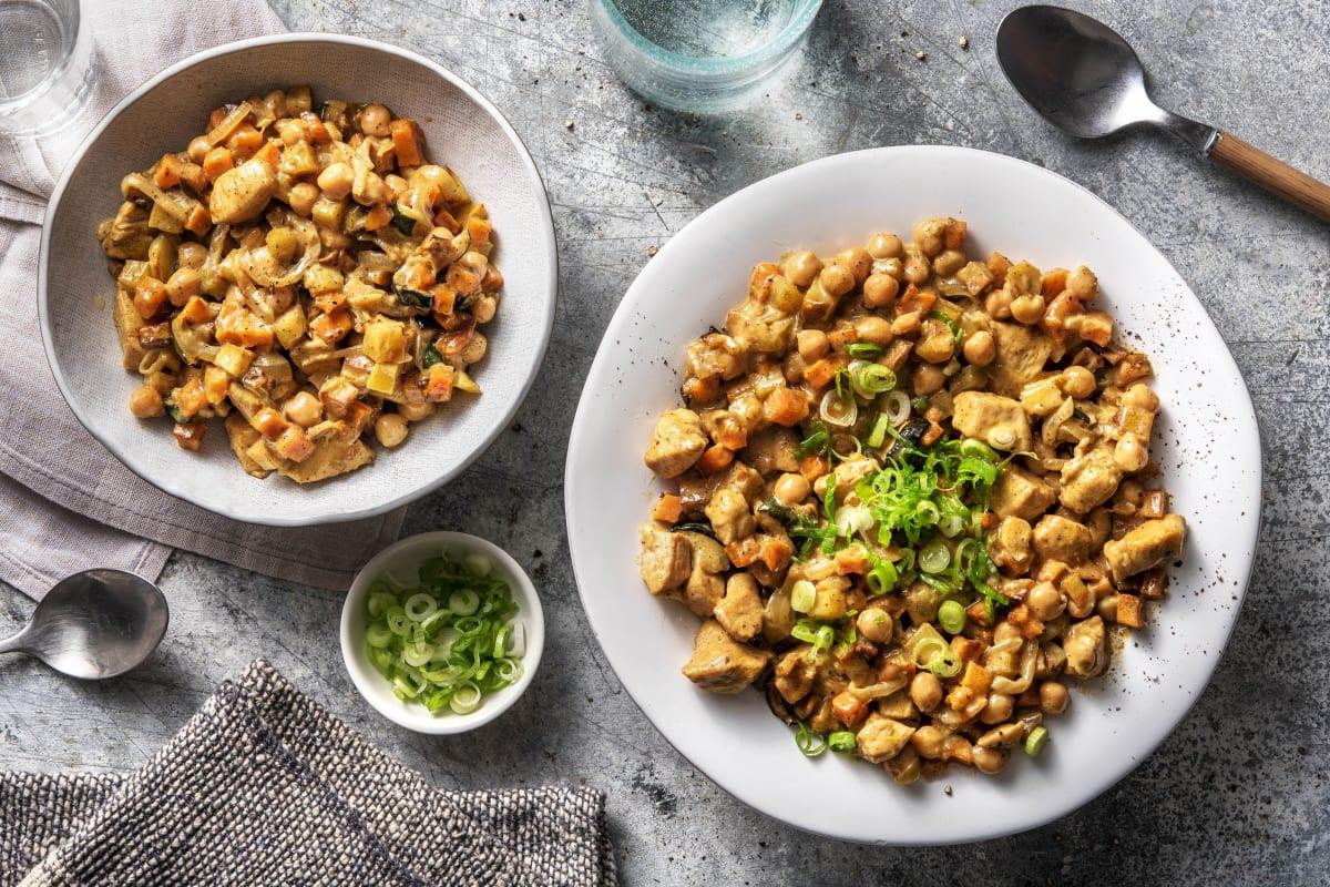 Tikka-Masala-Curry mit Hähnchenbrust