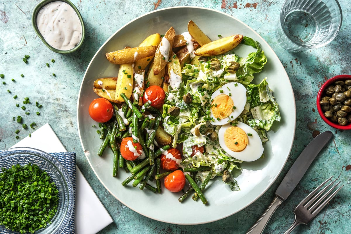 Feiner Kartoffelsalat nach Art Niçoise
