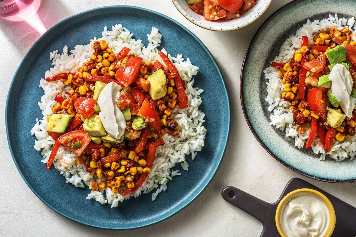 Chorizo-Gemüsepfanne
