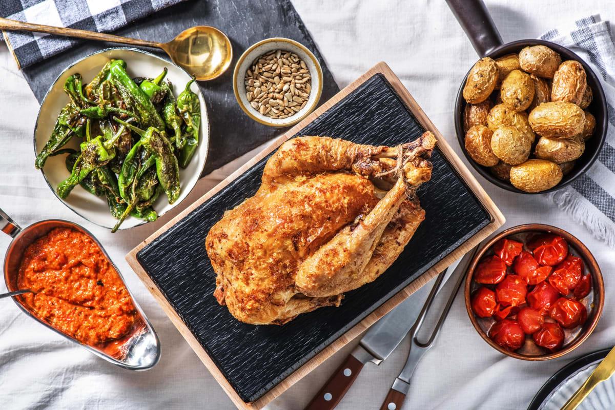 Pollo al Limón! Zitrushähnchen mit Meersalz