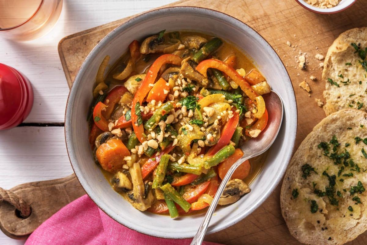 Gelbes Curry mit Varomagemüse