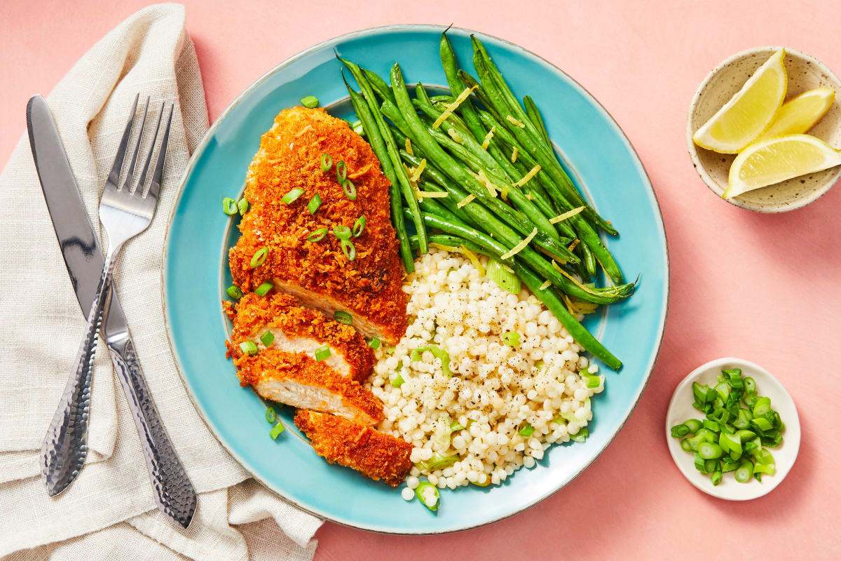 Crispy Parmesan Chicken Recipe Hellofresh