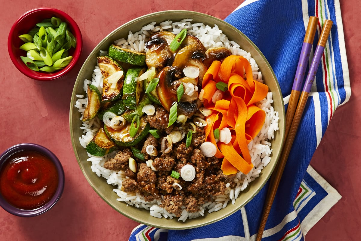 Korean Beef Bibimbap Recipe Hellofresh