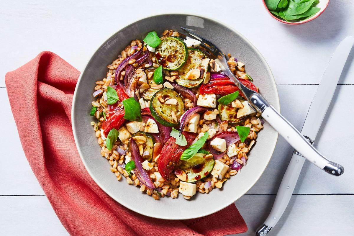 Lea Michele's Fave Veggie Bowls