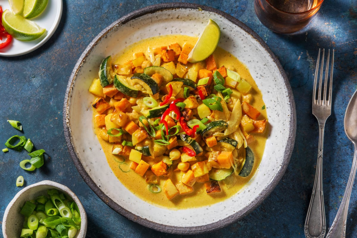 Veganes Massaman-Curry